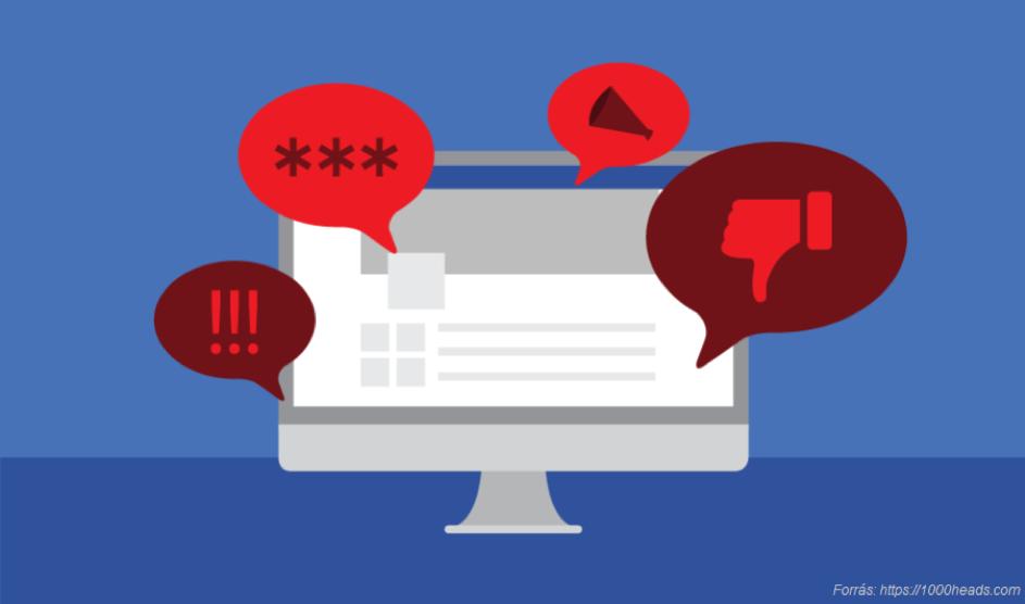 Online gyűlöletbeszéd: tűrni, feldühödni vagy…?